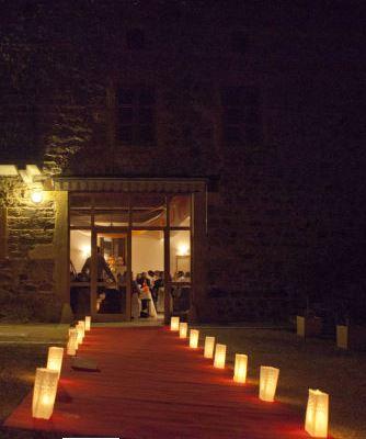 Salle mariage Le Cuvage - La nuit