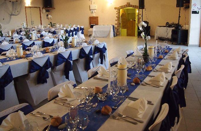 Salle mariage Le Cuvage - La réception